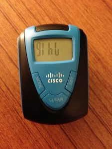"""The Official (OK, maybe it's not """"official"""") Cisco Live Pedometer"""