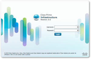 Cisco Prime Infrastructure Login Screen