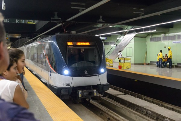 Modern train.