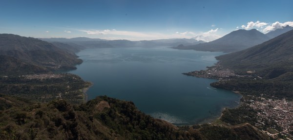 The view of Atitlan from the Indian's Nose.