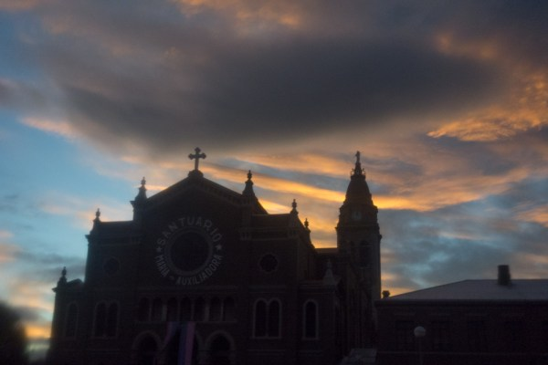 Punta Arenas sunset