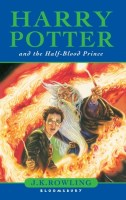 Harry Potter and the Half Blood Prince by JK Rowling book cover