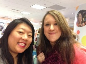 Fierce Reads 2015 Tour - Tiff and Wendy