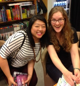 2015 Fierce Reads Tour. Me with Emma Mills, author of First and Then