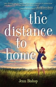 The Distance to Home book cover by Jenn Bishop