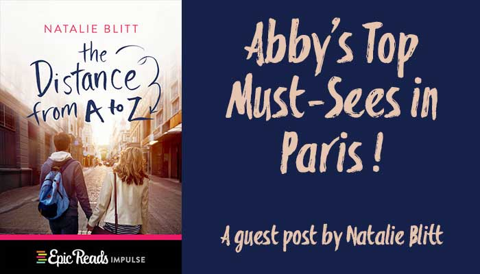The Distance from A to Z by Natalie Blitt Guest Post Banner