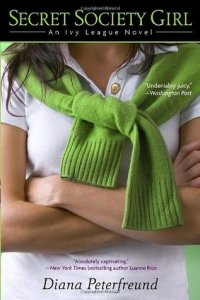 Secret Society Girl by Diana Peterfreund book cover