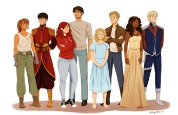 The Lunar Chronicles characters - Illustration by Aaliyah M Jaleel