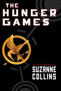The Hunger Games book cover by Suzanne Collins