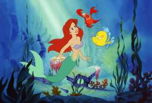 The Little Mermaid still from Disney movie