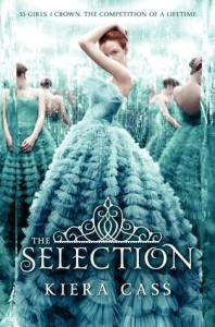 The Selection book cover by Kiera Cass