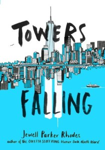 Towers Falling by Jewell Parker Rhodes book cover