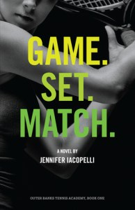 Game Set Match by Jennifer Iacopelli book cover