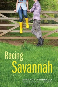 Racing Savannah by Miranda Kenneally book cover