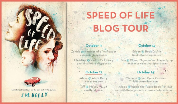 speed of life blog tour banner