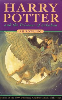 Harry Potter and the Prisoner of Azkaban book cover J.K. rowling