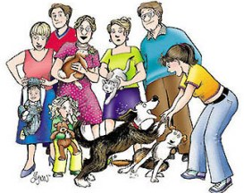 For Better or For Worse family portrait by Lynn Johnston