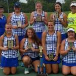 Brookville's Girls Tennis Team Wins Local Tournament