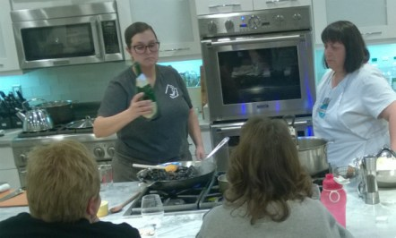 Chef House cooking with Mary Cooney