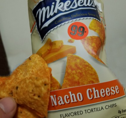 New Nacho Cheese tortilla Chips from Mikesells are sturdier than the rest