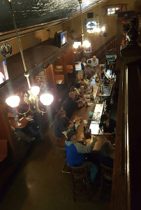 Dark Horse Tavern from above