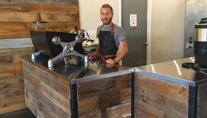 There's A New Coffee Shop Downtown