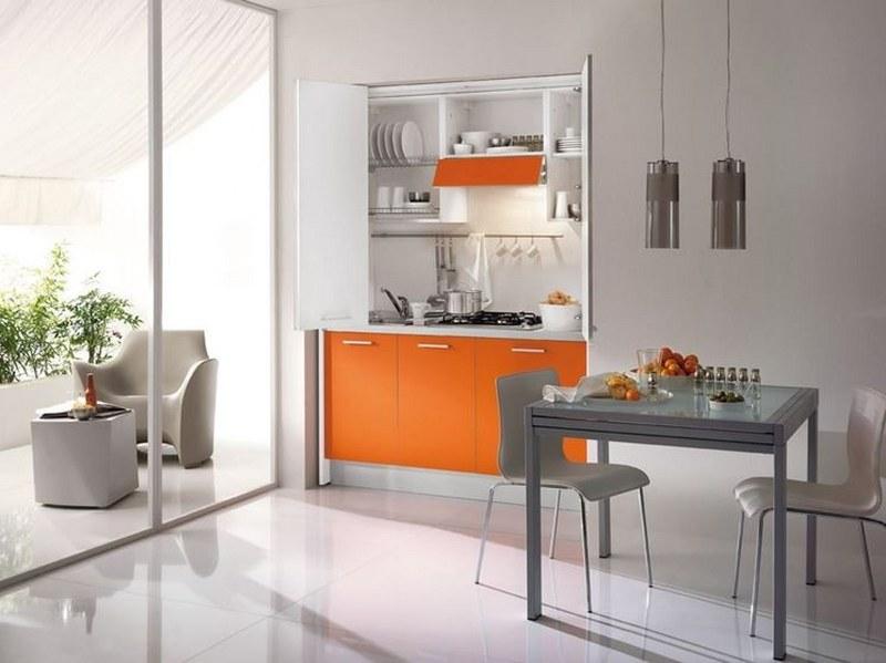 Arredare piccoli spazi con le cucine monoblocco  Mostra