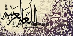 اللغة العربية قيمة جوهرية في حياة كل أمة