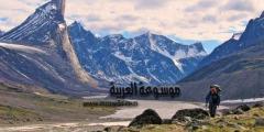 كندا و جزيرة بافين عاصمته إيكالويت إقليم نونافوت