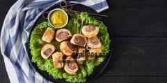 فطيرة اللحم المفروم بالبف باستري