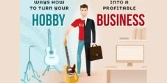 كيف يمكنك تحويل هوايتك إلى مشروع تجاري ناحج باسرع وقت؟