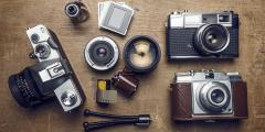تاريخ أختراع الكاميرات