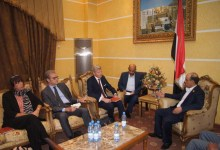 Photo of The Minister of Transport meets the Ambassador of the European Union and the Ambassadors of France and the Netherlands to Yemen