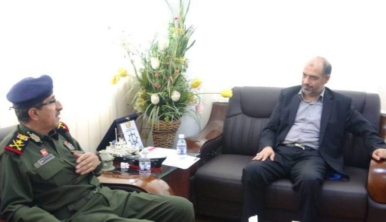 صورة لقاء برئاسة الرويشان لمناقشة سير عمل هيئة الطيران