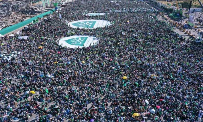 صورة أحتفالية مليونية أحياء لذكرى المولد النبوي الشريف بأمانة العاصمة