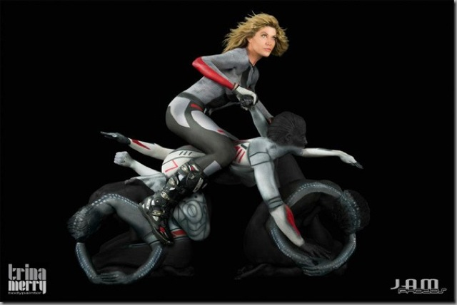 human motorcycle 1