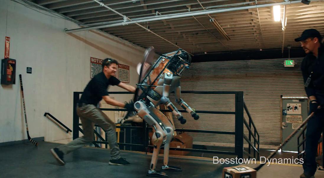 Un robot maltraité se rebelle