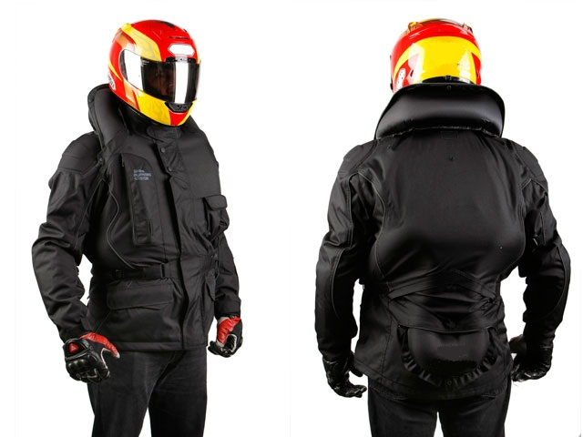 Les gilets airbag  le plus de la protection du motard