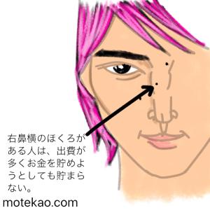 横浜流星さん右鼻のほくろ