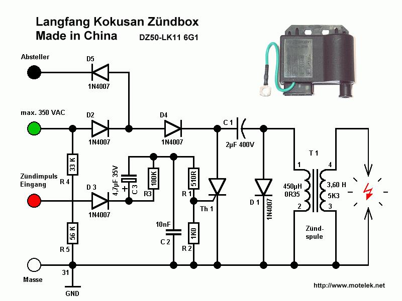 Einbau Kokusan Zündanlage in Super Sport Combinette