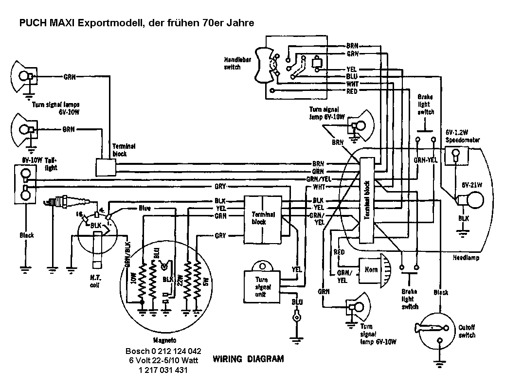 hight resolution of index of schema puch1978 puch maxi wiring diagram 20
