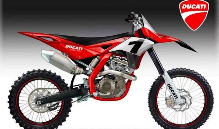 Ducati de motocross