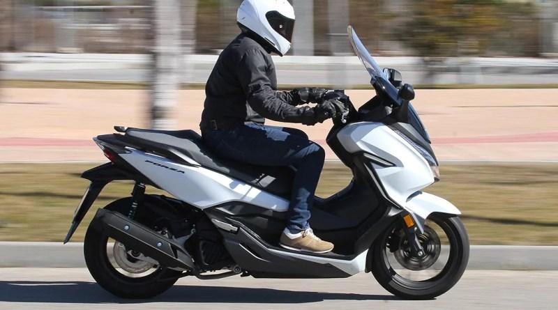Prueba Honda Forza 125 2019