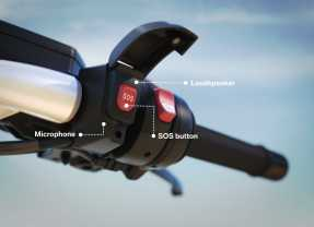 Llamadas de emergencia para motos de Bmw