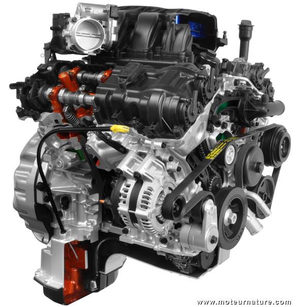 2003 Jeep Renegade Engine Diagram Un Nouveau Moteur V6 Chez Chrysler