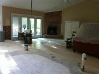 Sunken Living Room Remodel - Mother Daughter Projects