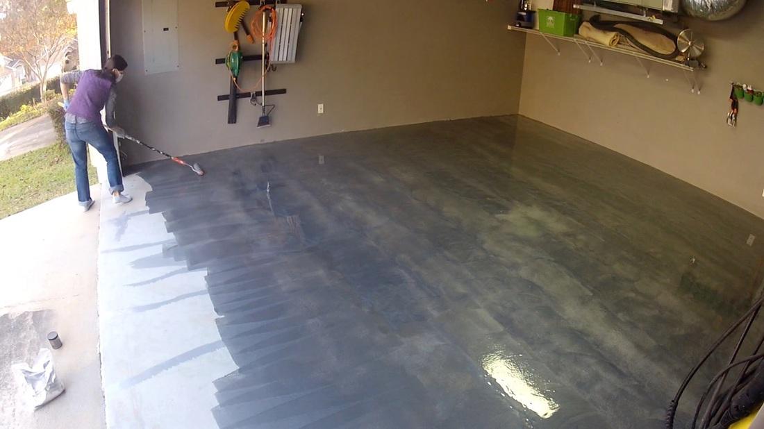 RustOleum RockSolid Floor Coating  Mother Daughter Projects