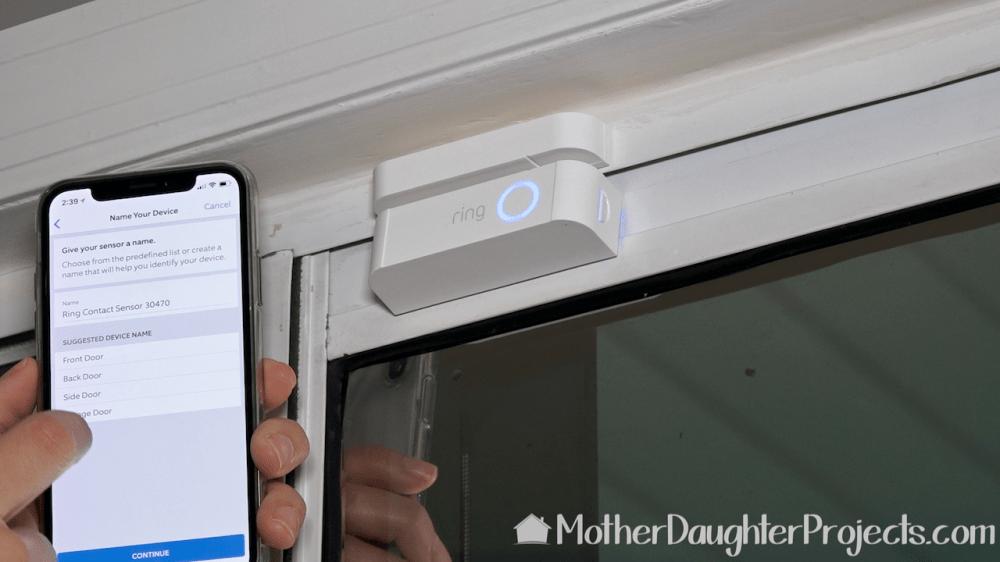 medium resolution of setting up the 2 part door window sensor from the ring alarm kit