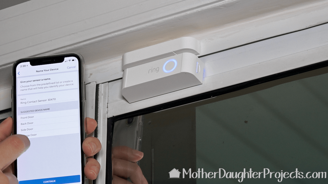 hight resolution of setting up the 2 part door window sensor from the ring alarm kit
