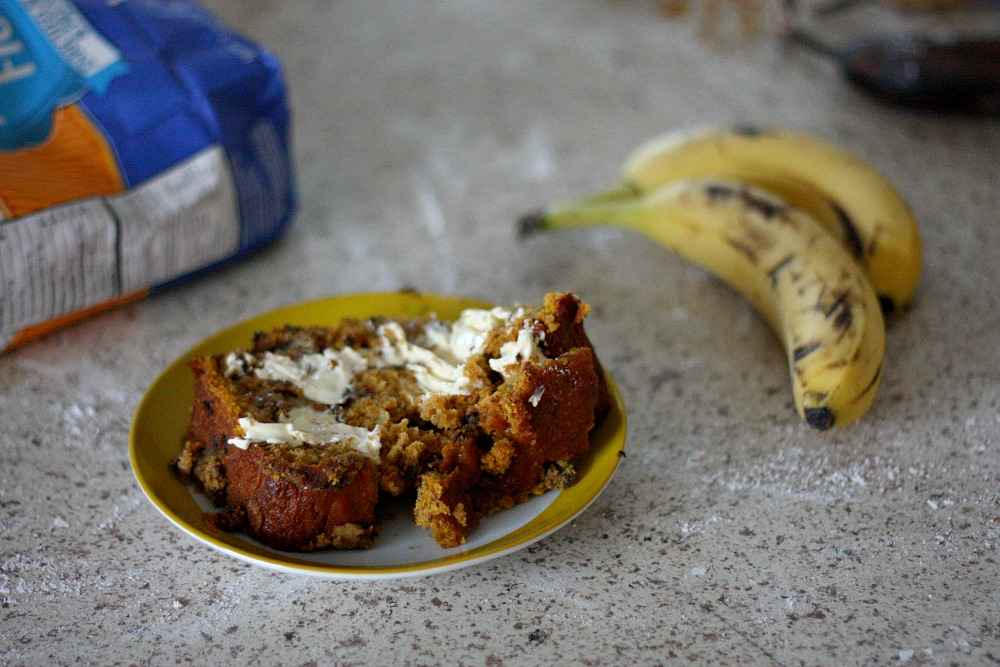 How to bake Pumpkin Banana Bread